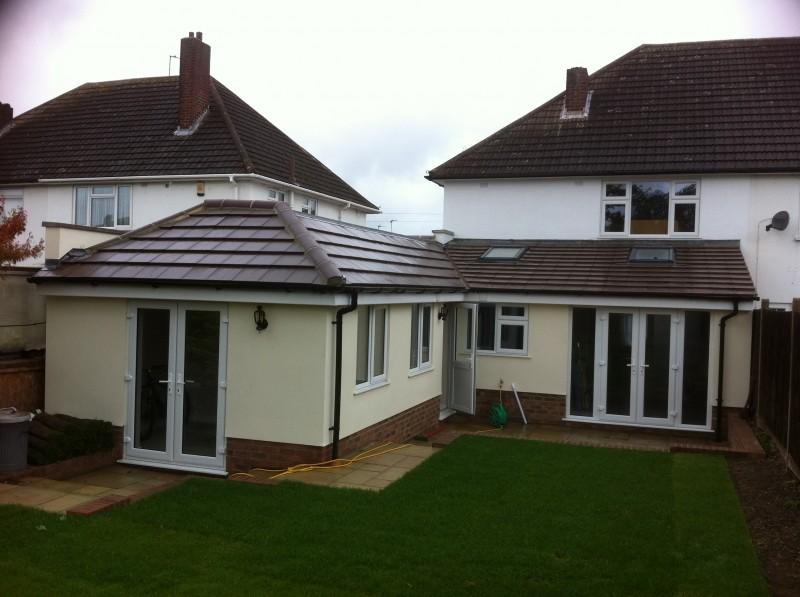 Modern single storey rear extension in kynaston road for 3 bedroom house extension ideas