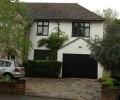 two storey house extension photo