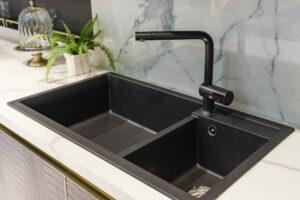 bold colours black tap